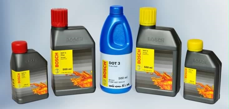 Bosch Genuine Brake Fluid - Bosch Auto Superior